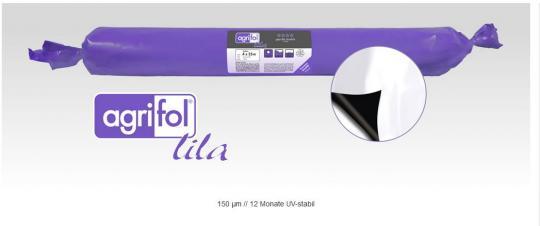 agrifol Silofolie schwarz/weiß 150my 7 m Breite
