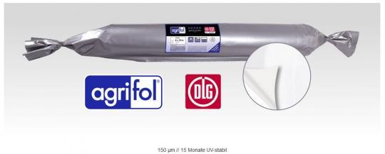 agrifol DLG-Silofolie weiß 150my 5 m Breite
